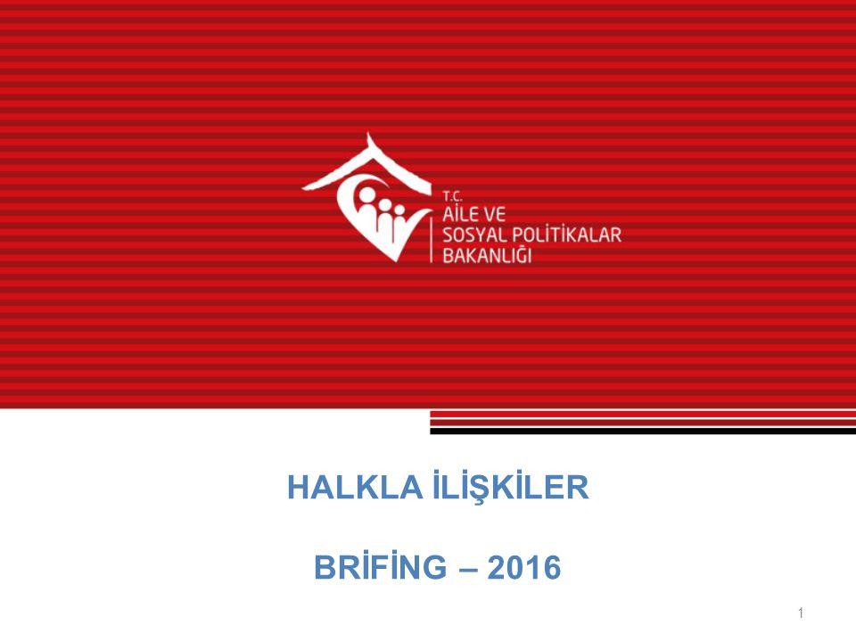 HALKLA İLİŞKİLER BRİFİNG – 2016