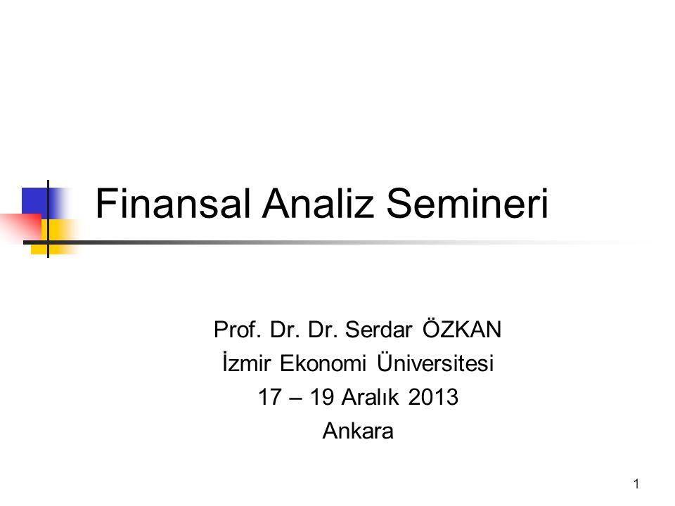 Finansal Analiz Semineri