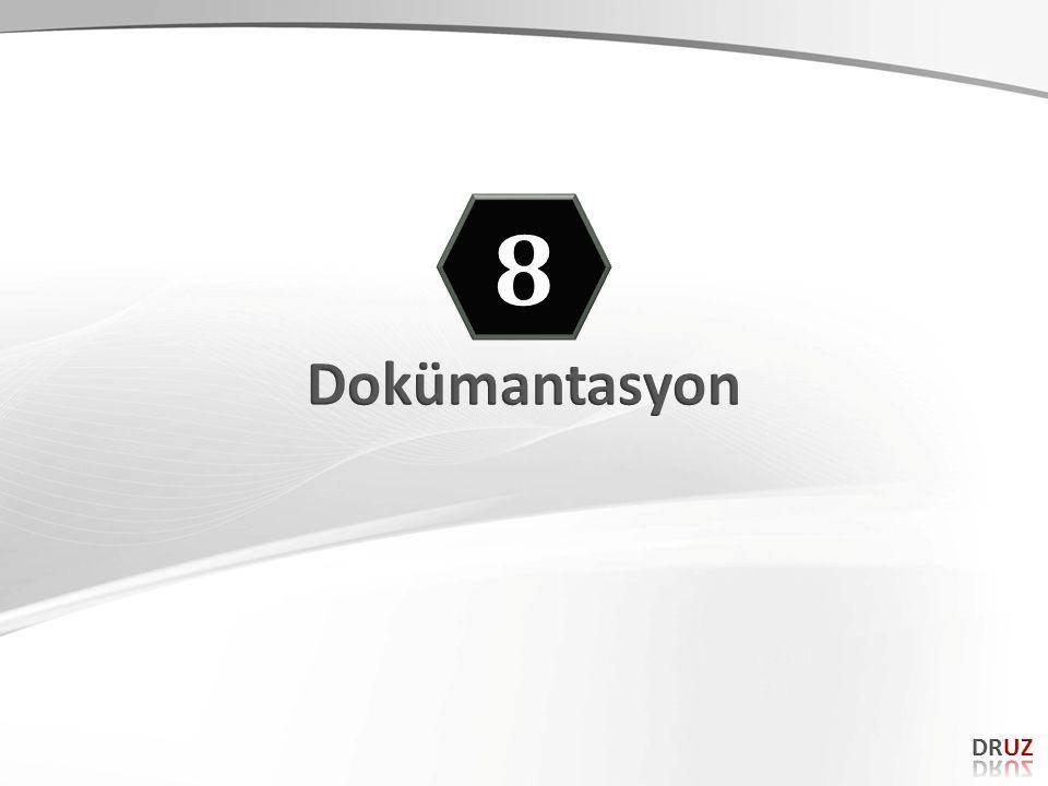 8 Dokümantasyon DRUZ 91 91