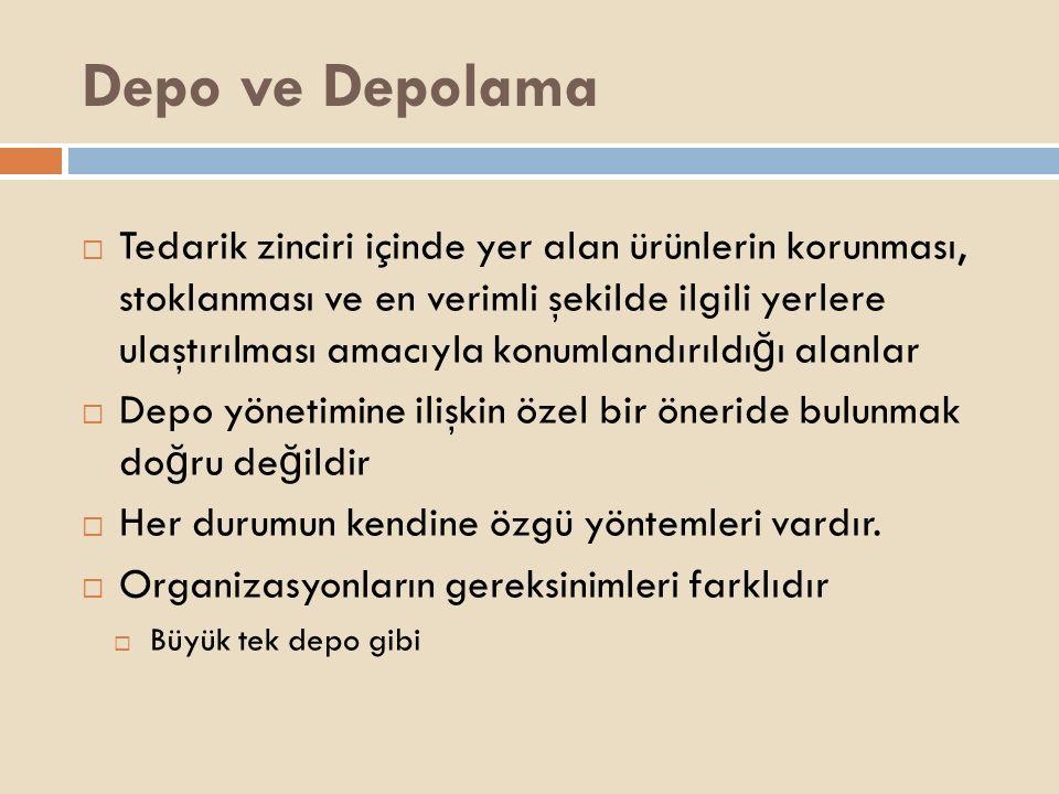 Depo ve Depolama