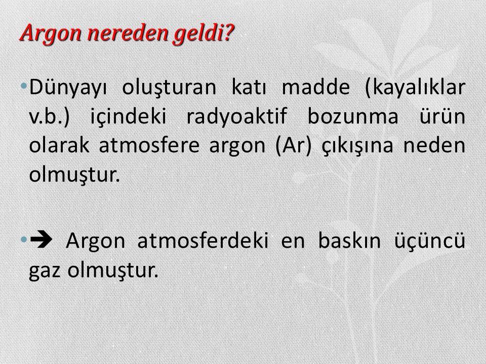 Argon nereden geldi