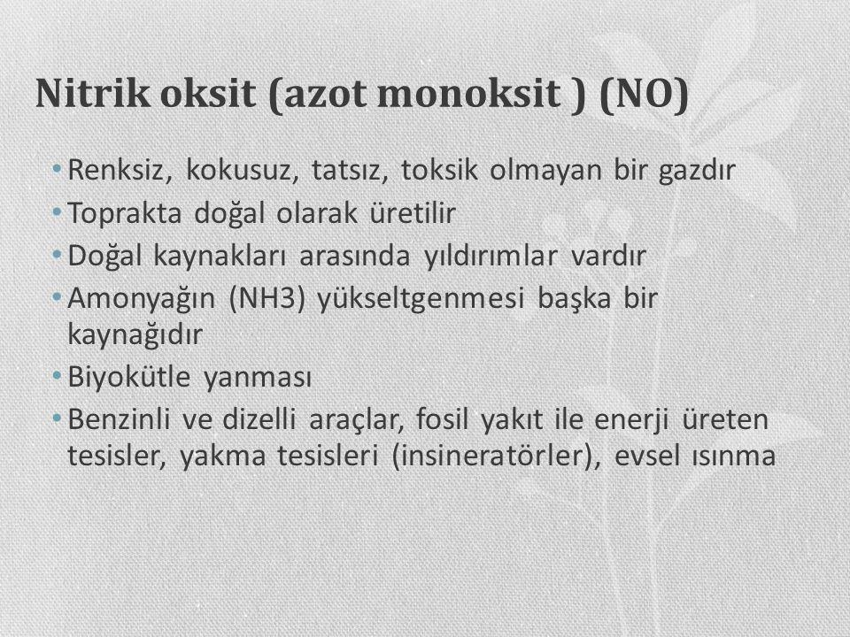 Nitrik oksit (azot monoksit ) (NO)