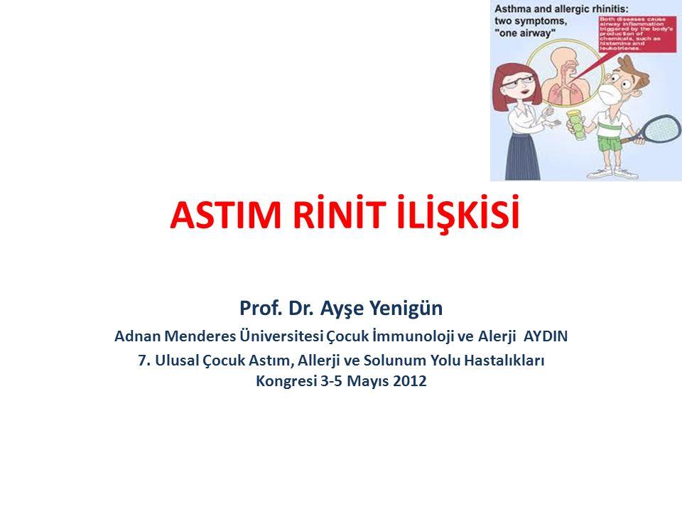 Adnan Menderes Üniversitesi Çocuk İmmunoloji ve Alerji AYDIN