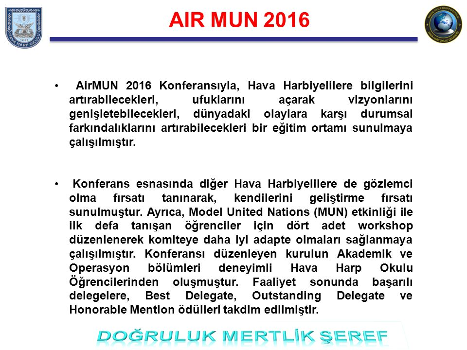 AIR MUN 2016