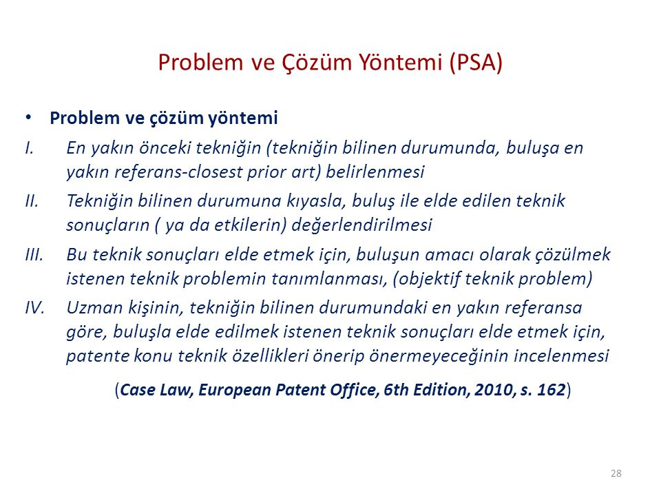 Problem ve Çözüm Yöntemi (PSA)
