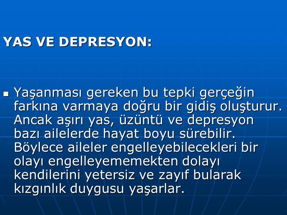 YAS VE DEPRESYON: