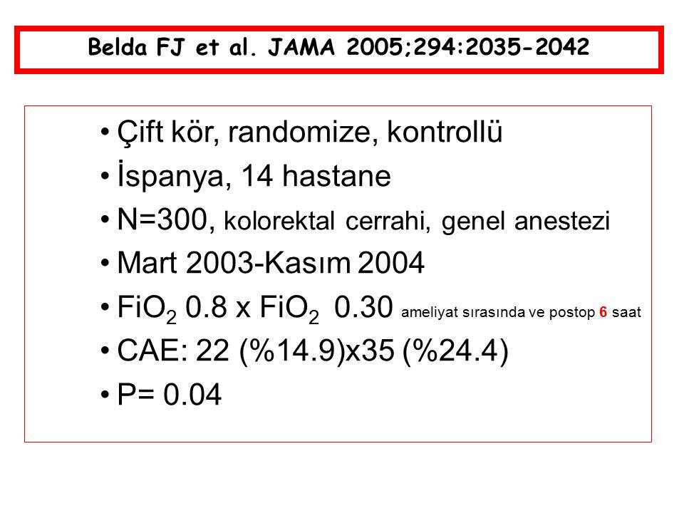 Çift kör, randomize, kontrollü İspanya, 14 hastane