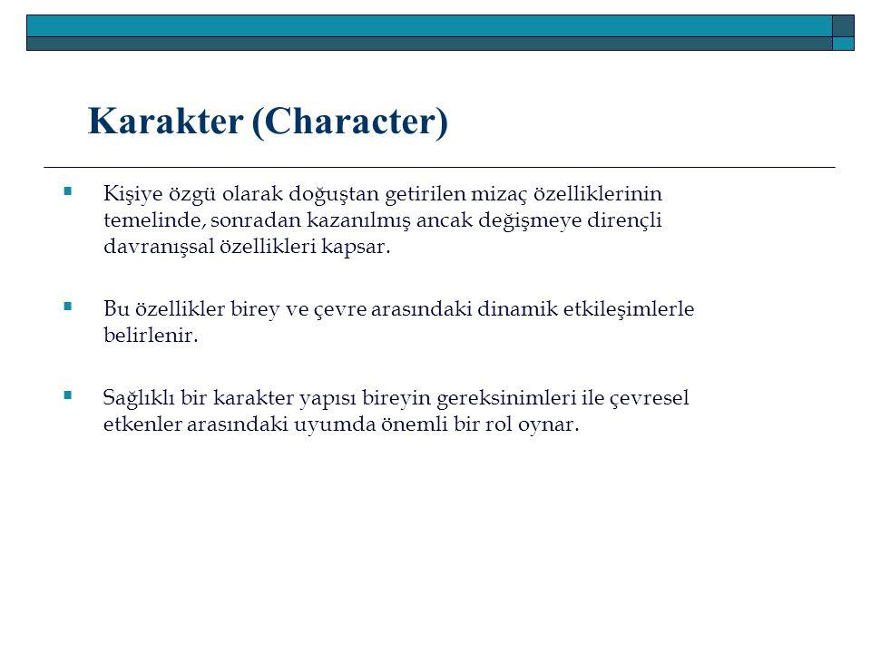 Karakter (Character)