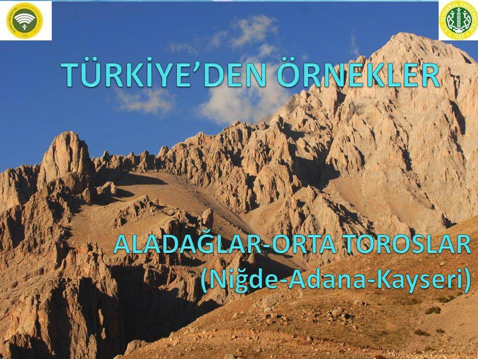 ALADAĞLAR-ORTA TOROSLAR (Niğde-Adana-Kayseri)