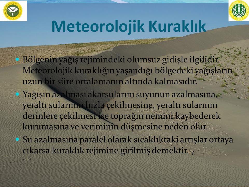 Meteorolojik Kuraklık