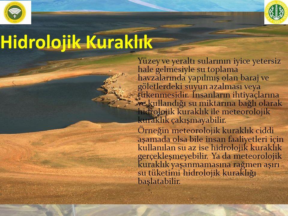 Hidrolojik Kuraklık