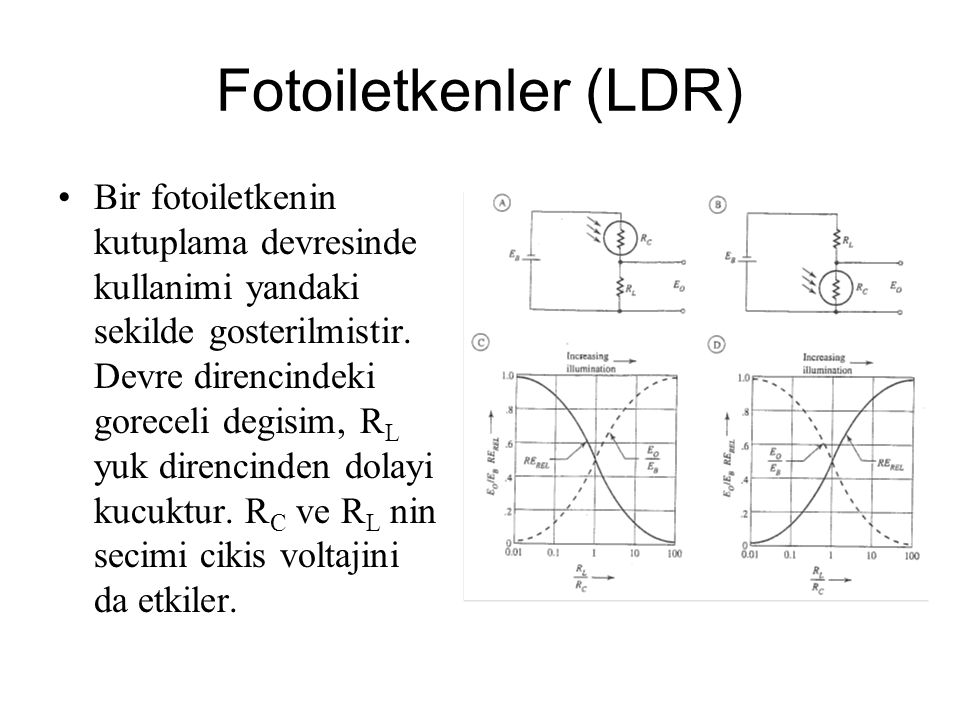Fotoiletkenler (LDR)