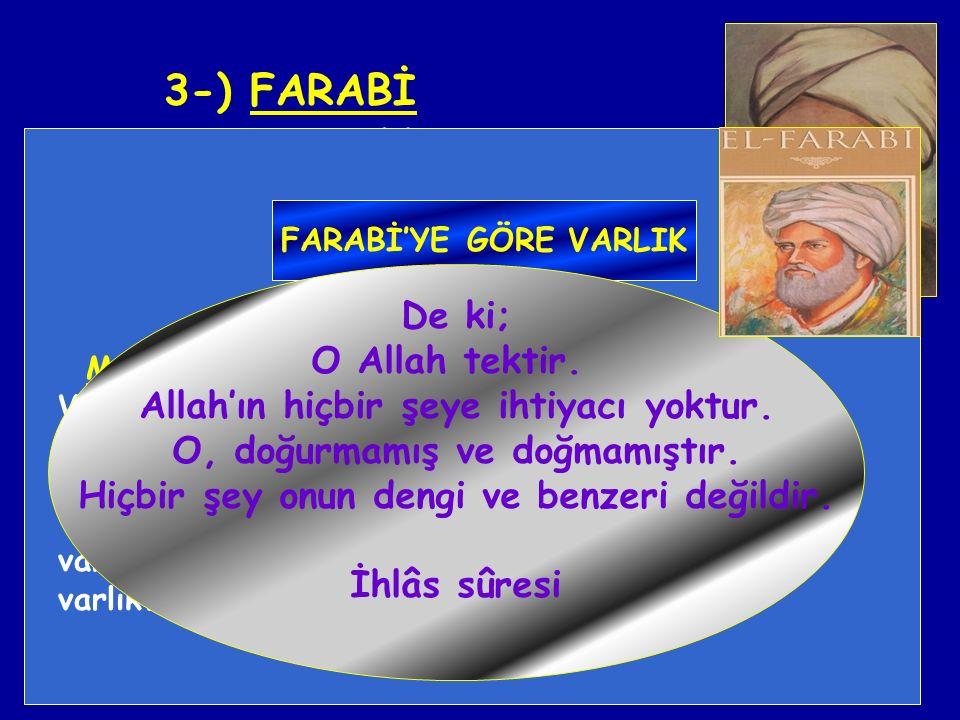 3-) FARABİ