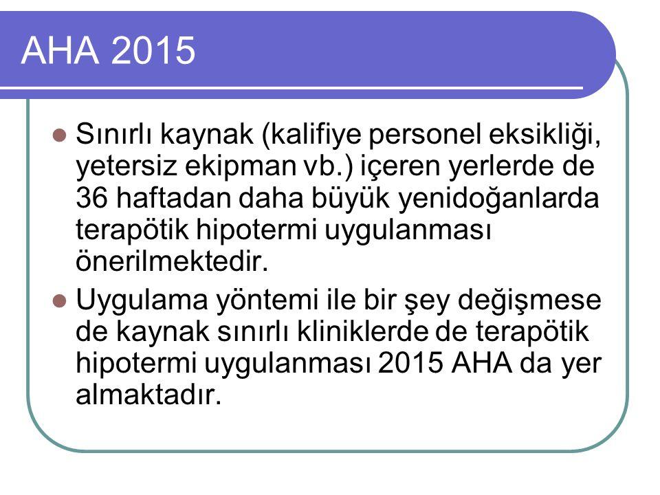 AHA 2015