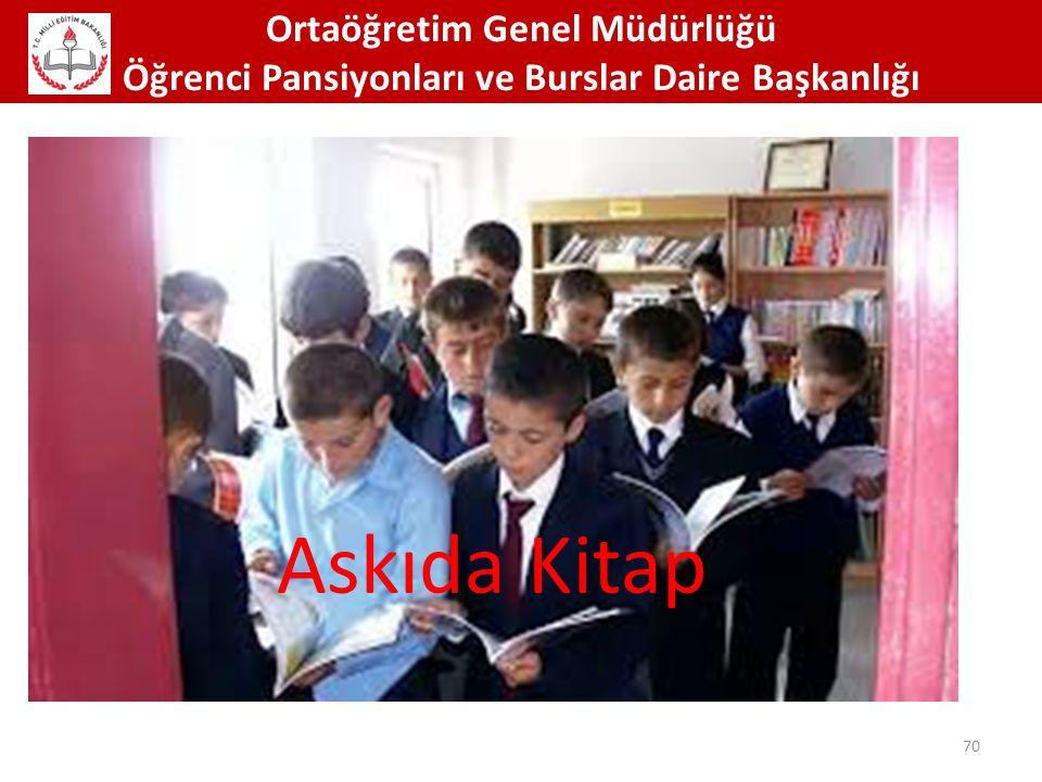 Askıda Kitap Ortaöğretim Genel Müdürlüğü