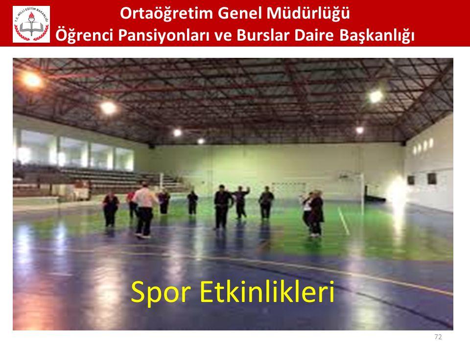 Spor Etkinlikleri Ortaöğretim Genel Müdürlüğü