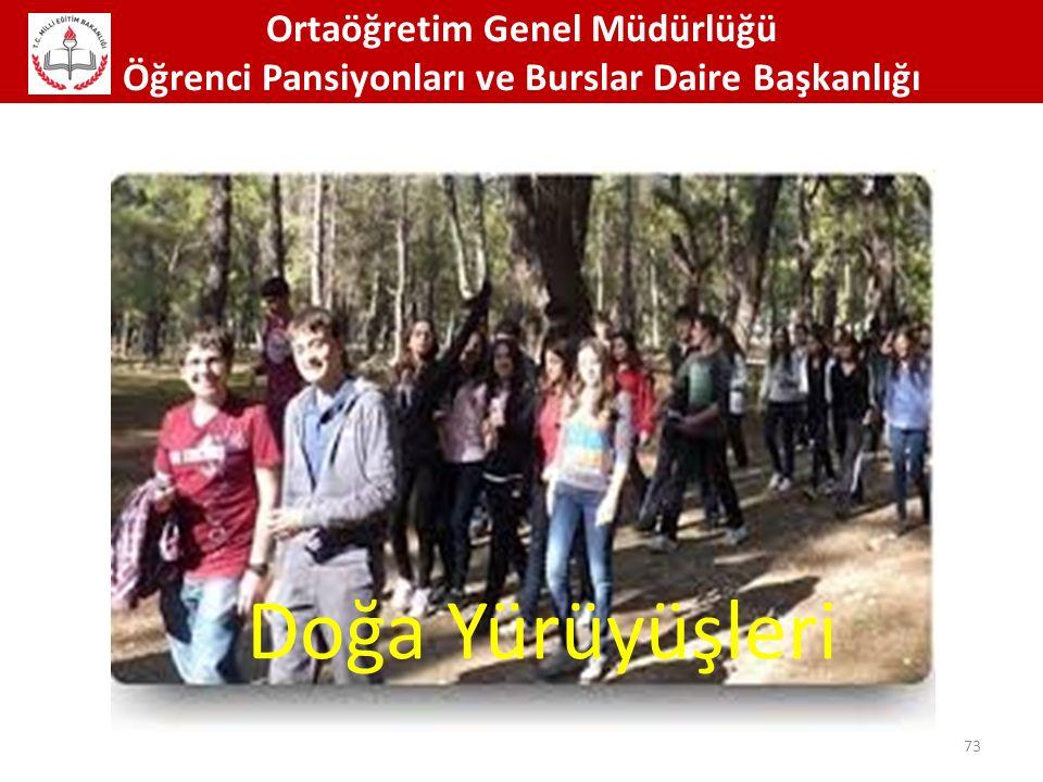 Doğa Yürüyüşleri Ortaöğretim Genel Müdürlüğü