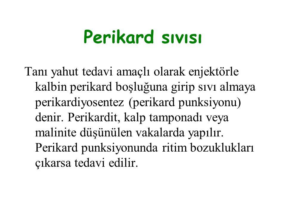 Perikard sıvısı