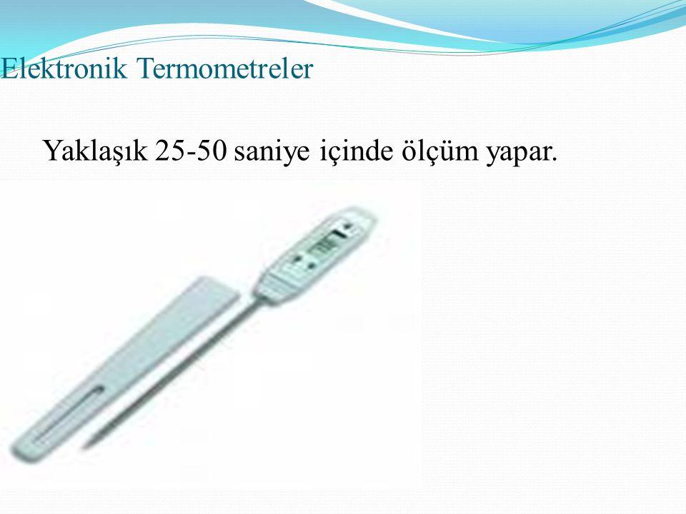 Elektronik Termometreler