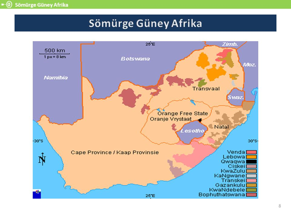 Sömürge Güney Afrika Sömürge Güney Afrika 8