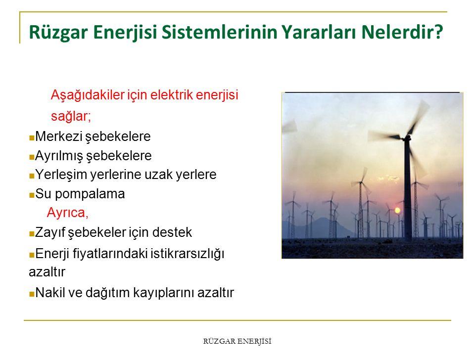 Rüzgar Enerjisi Sistemlerinin Yararları Nelerdir