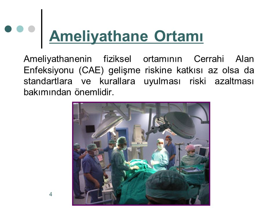 Cerrahi Alan Enfeksiyonları