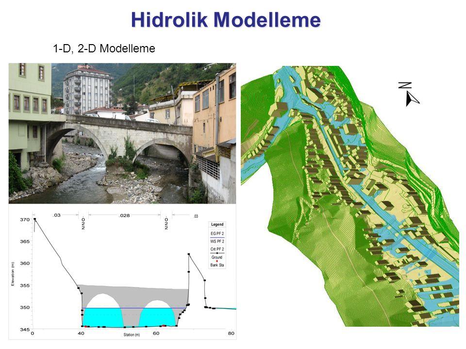Hidrolik Modelleme 1-D, 2-D Modelleme