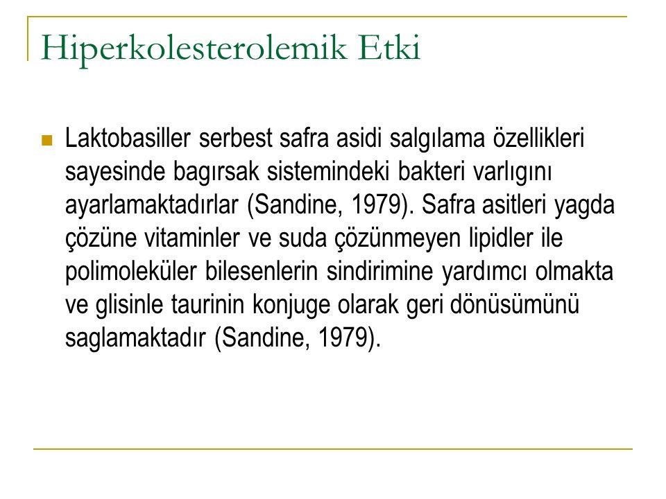 Hiperkolesterolemik Etki