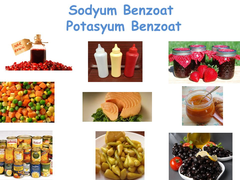 Sodyum Benzoat Potasyum Benzoat