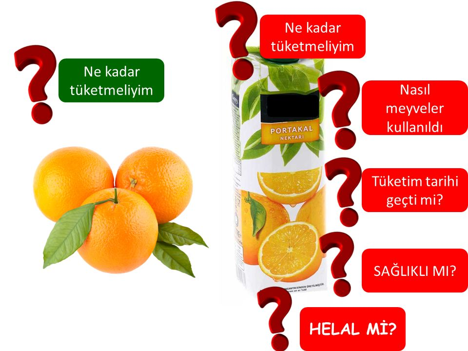 Nasıl meyveler kullanıldı