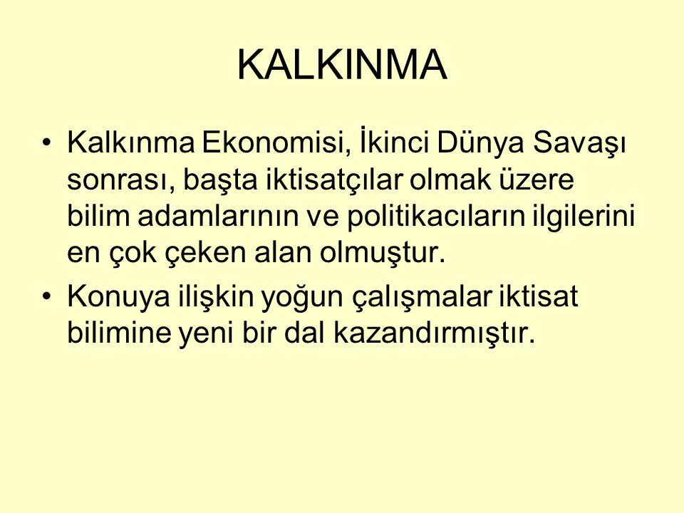 KALKINMA