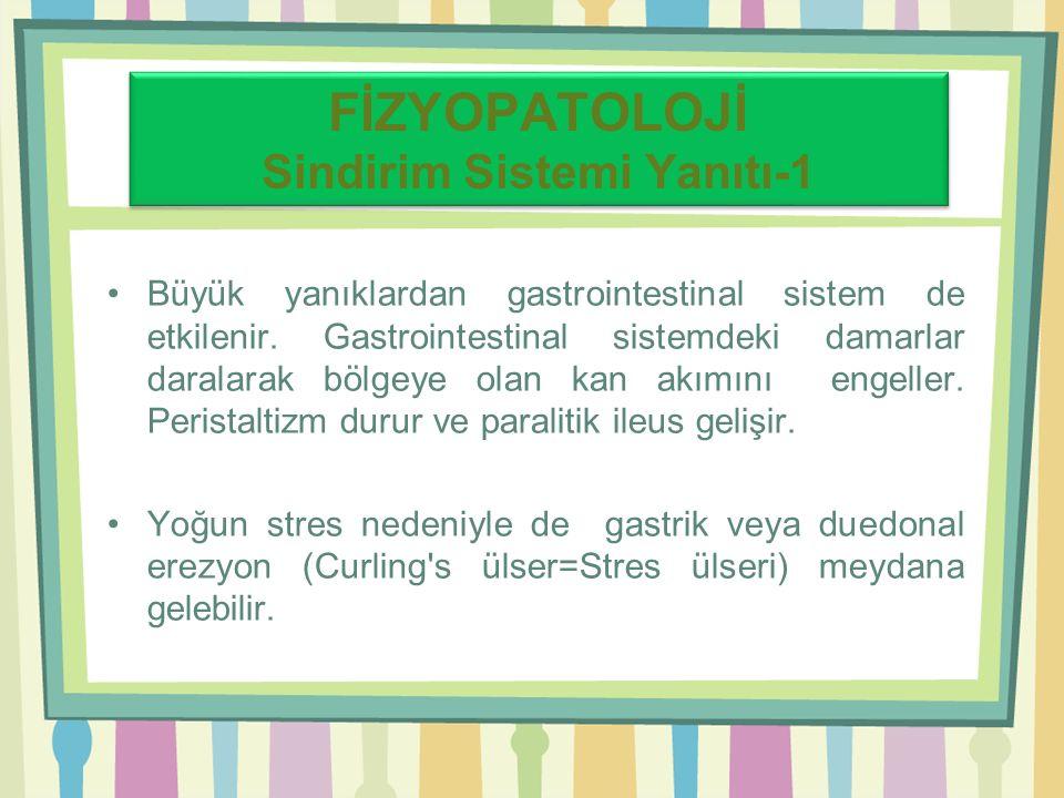 FİZYOPATOLOJİ Sindirim Sistemi Yanıtı-1