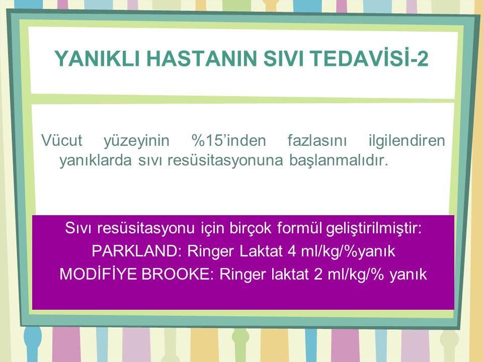 YANIKLI HASTANIN SIVI TEDAVİSİ-2