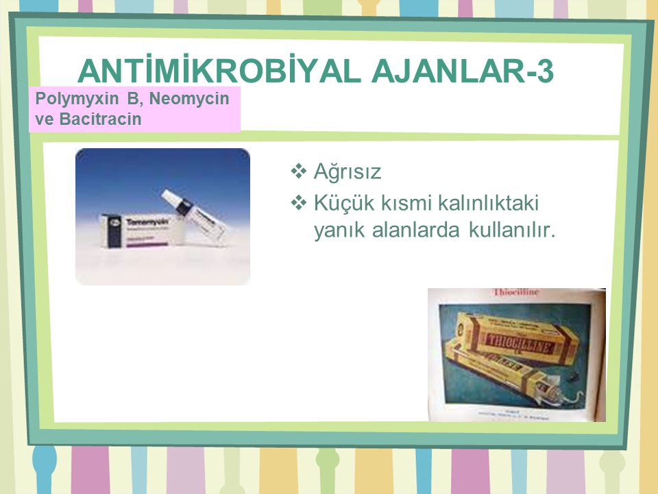 ANTİMİKROBİYAL AJANLAR-3