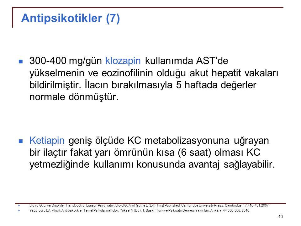 Antipsikotikler (7)