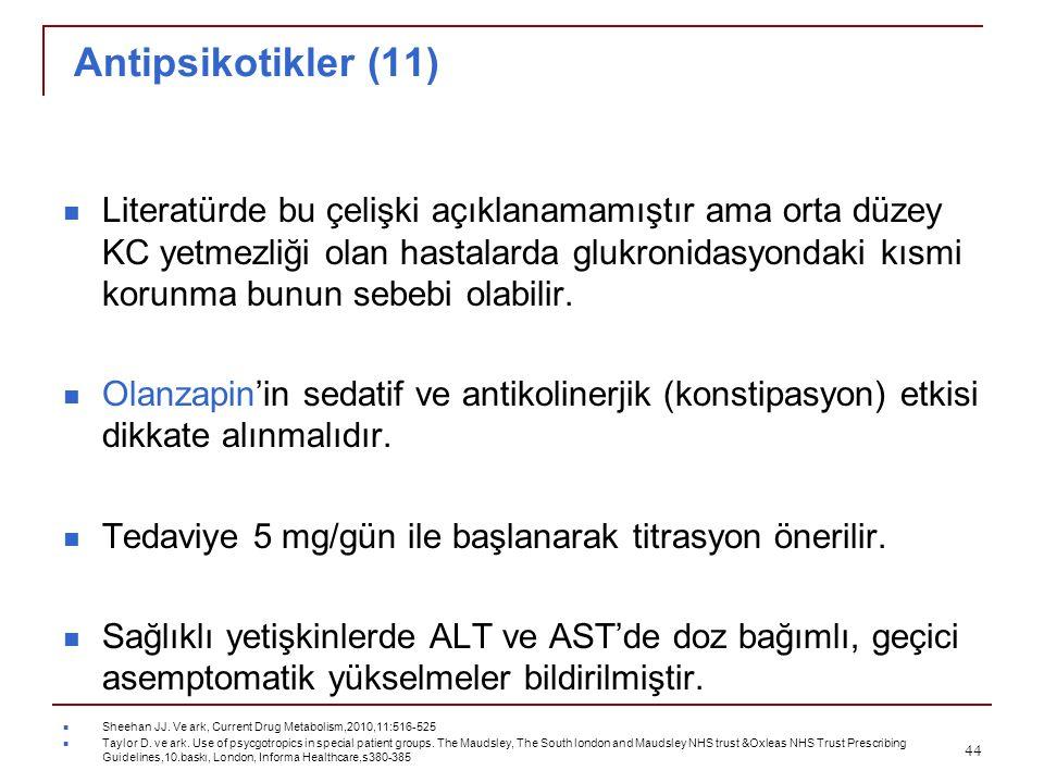 Antipsikotikler (11)