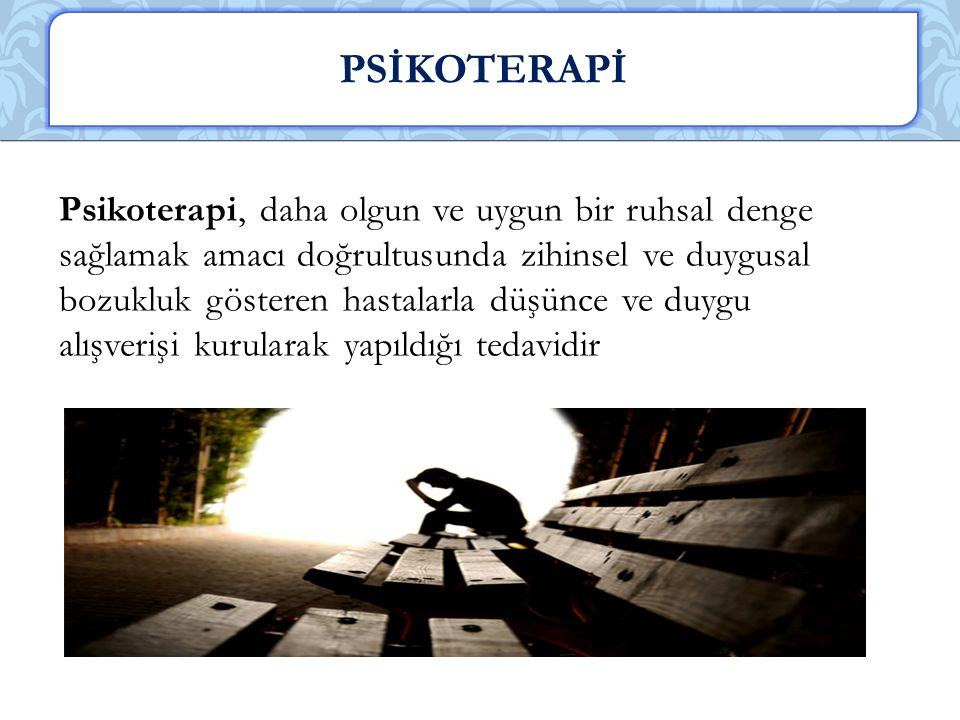 PSİKOTERAPİ