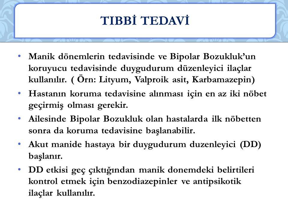 TIBBİ TEDAVİ