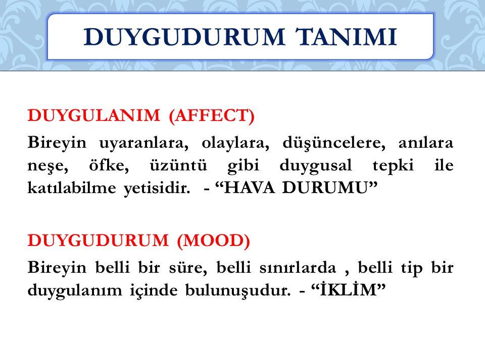 DUYGUDURUM TANIMI