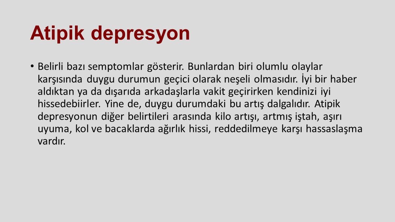 Atipik depresyon