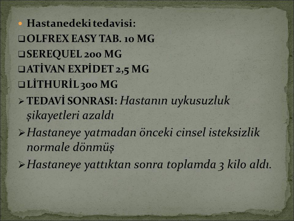 Ativan expidet 2.5 mg kullananlar