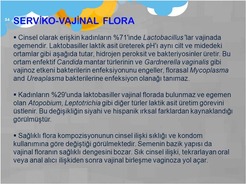 SERVİKO-VAJİNAL FLORA