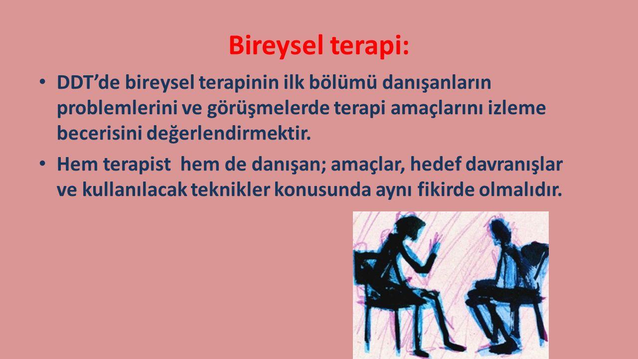 Bireysel terapi: