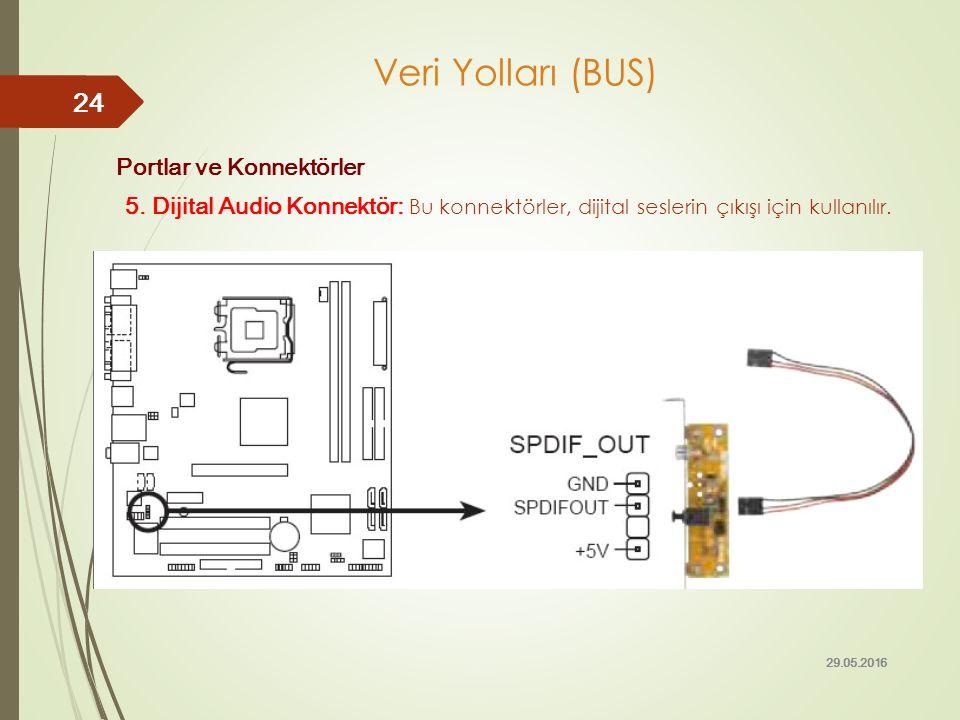 Veri Yolları (BUS) Portlar ve Konnektörler