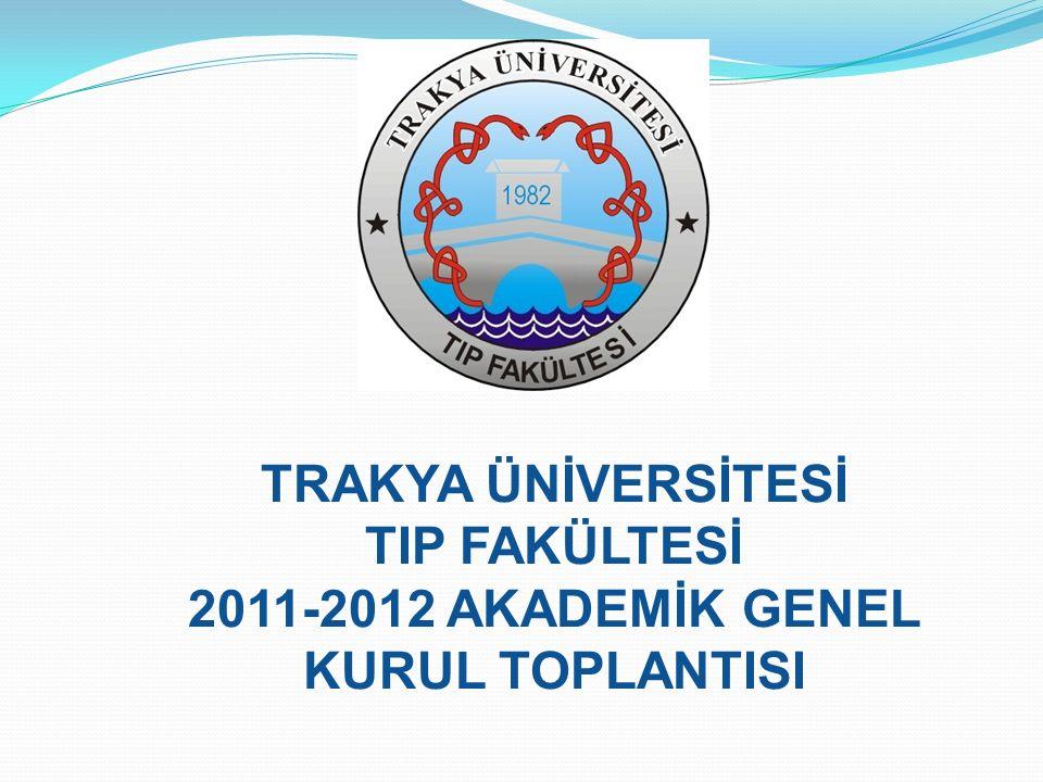 2011-2012 AKADEMİK GENEL KURUL TOPLANTISI