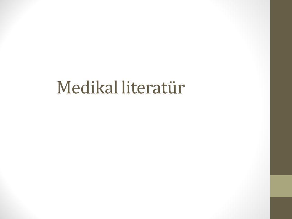 Medikal literatür