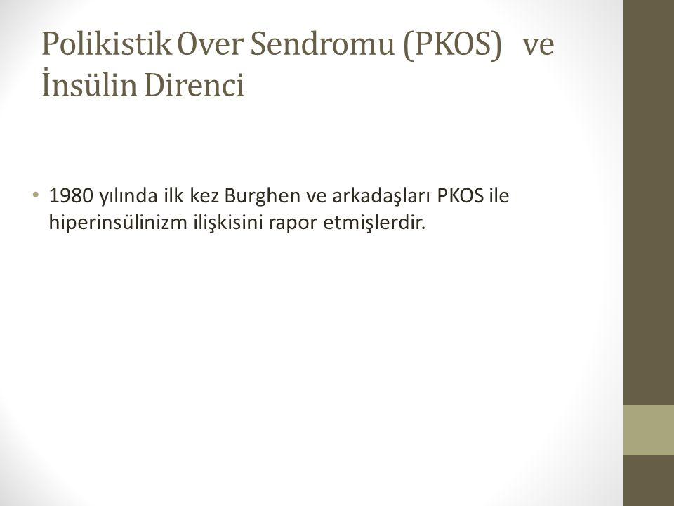Polikistik Over Sendromu (PKOS) ve İnsülin Direnci