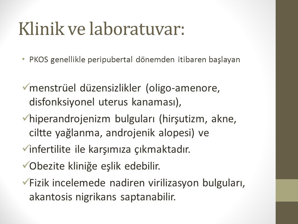 Klinik ve laboratuvar: