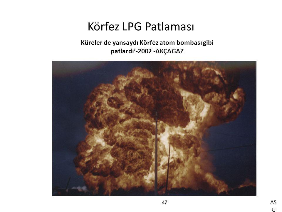 Küreler de yansaydı Körfez atom bombası gibi patlardı'-2002 -AKÇAGAZ