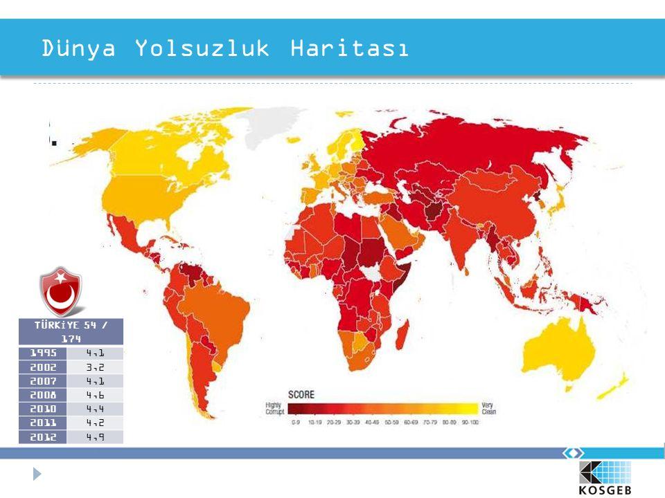 Dünya Yolsuzluk Haritası